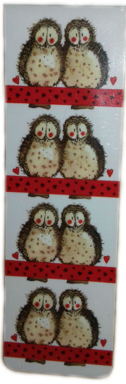Owls Magnetic Bookmark